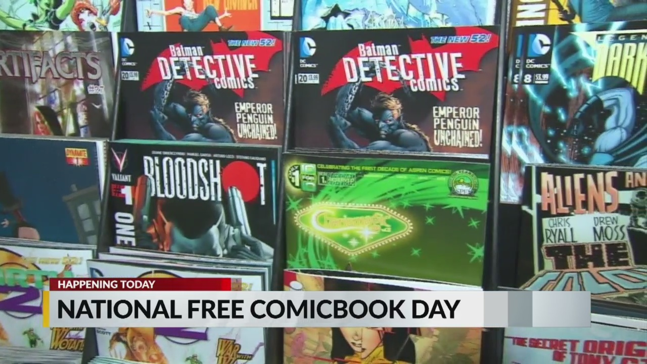 Free Comicbook Day