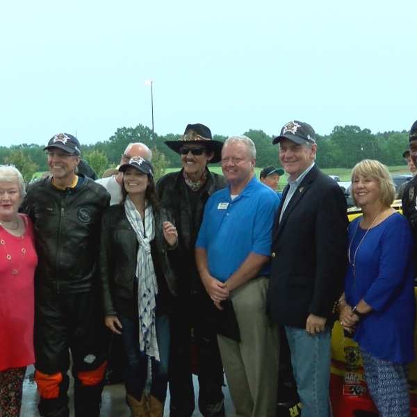 KYLE PETTY CHARITY RIDE ACROSS AMERICA STOPS IN MAGEE