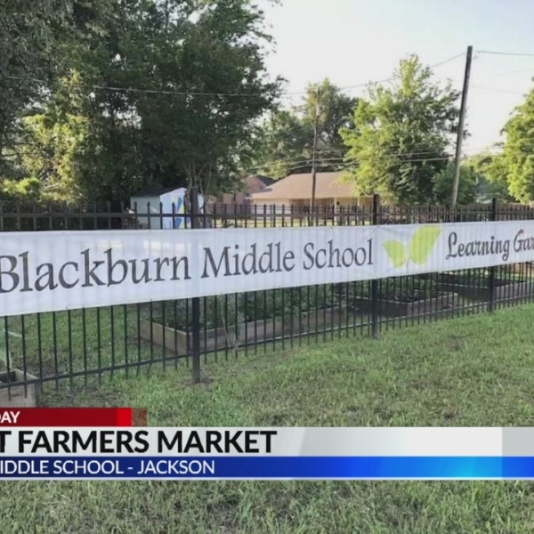 Veggies for Sale at Blackburn Middle School