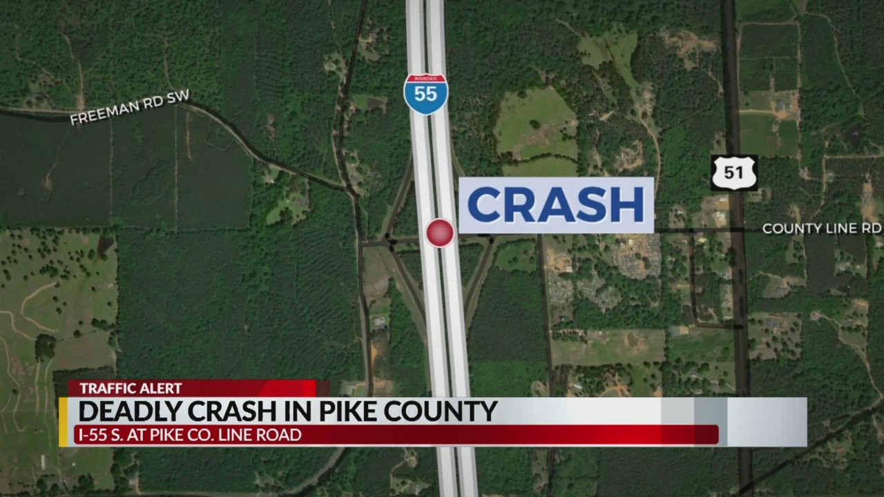 Driver killed in 18-wheeler crash in Pike County