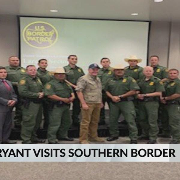 Governor Bryant Visits Southern Border