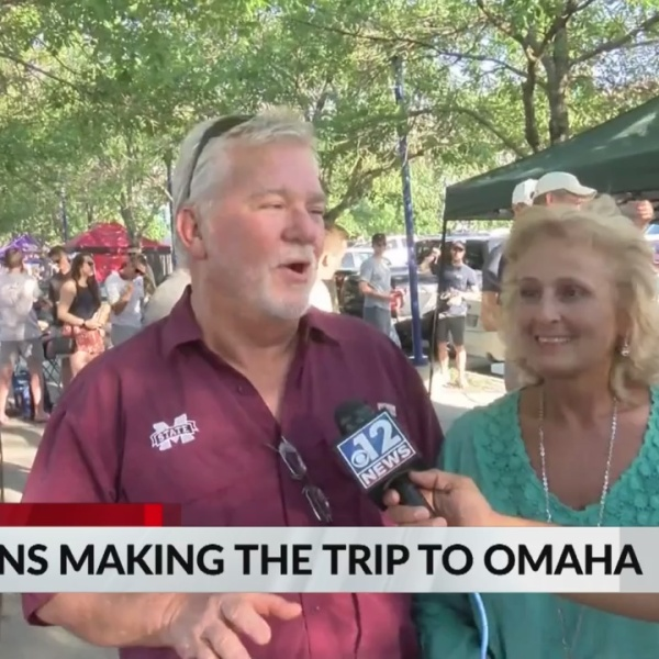 Herby & Mary Austin's first trip to Omaha