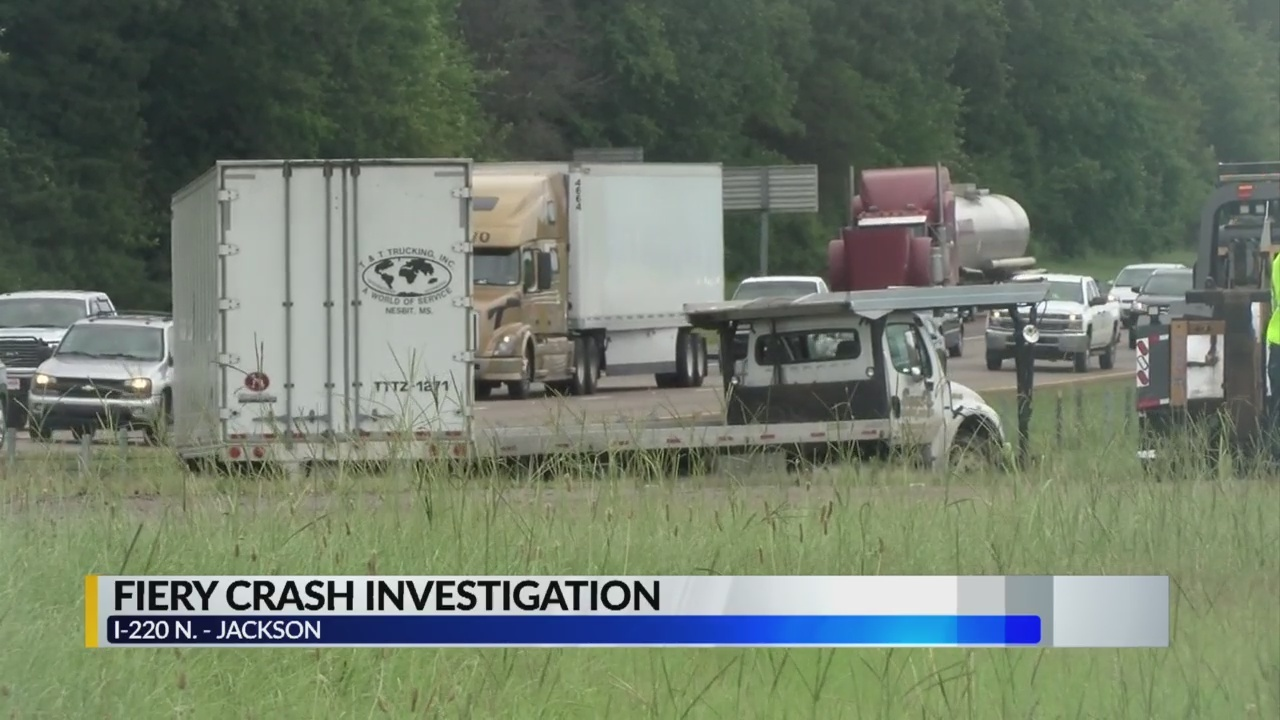 Wreck on I-220 South past US 49 North