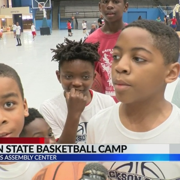 Jackson State hosts men's basketball camp
