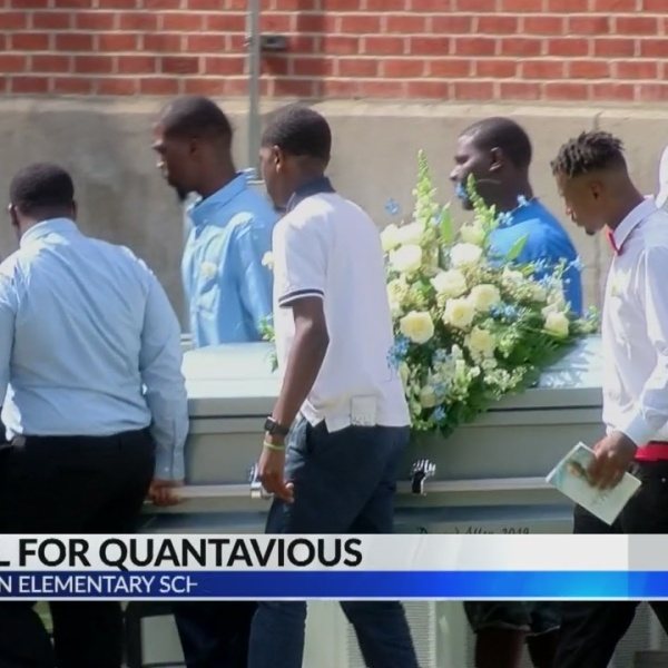 Quantavious Allen Jr. is laid to rest Saturday afternoon