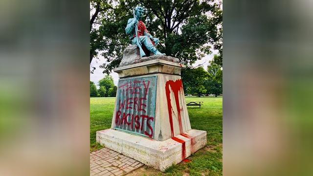 Confederate Centennial vandalism-873703986-873703986