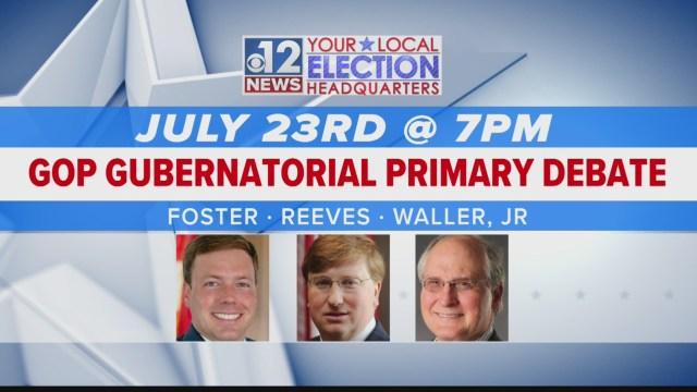 GOP gubernatorial candidates prep for Tuesday debate