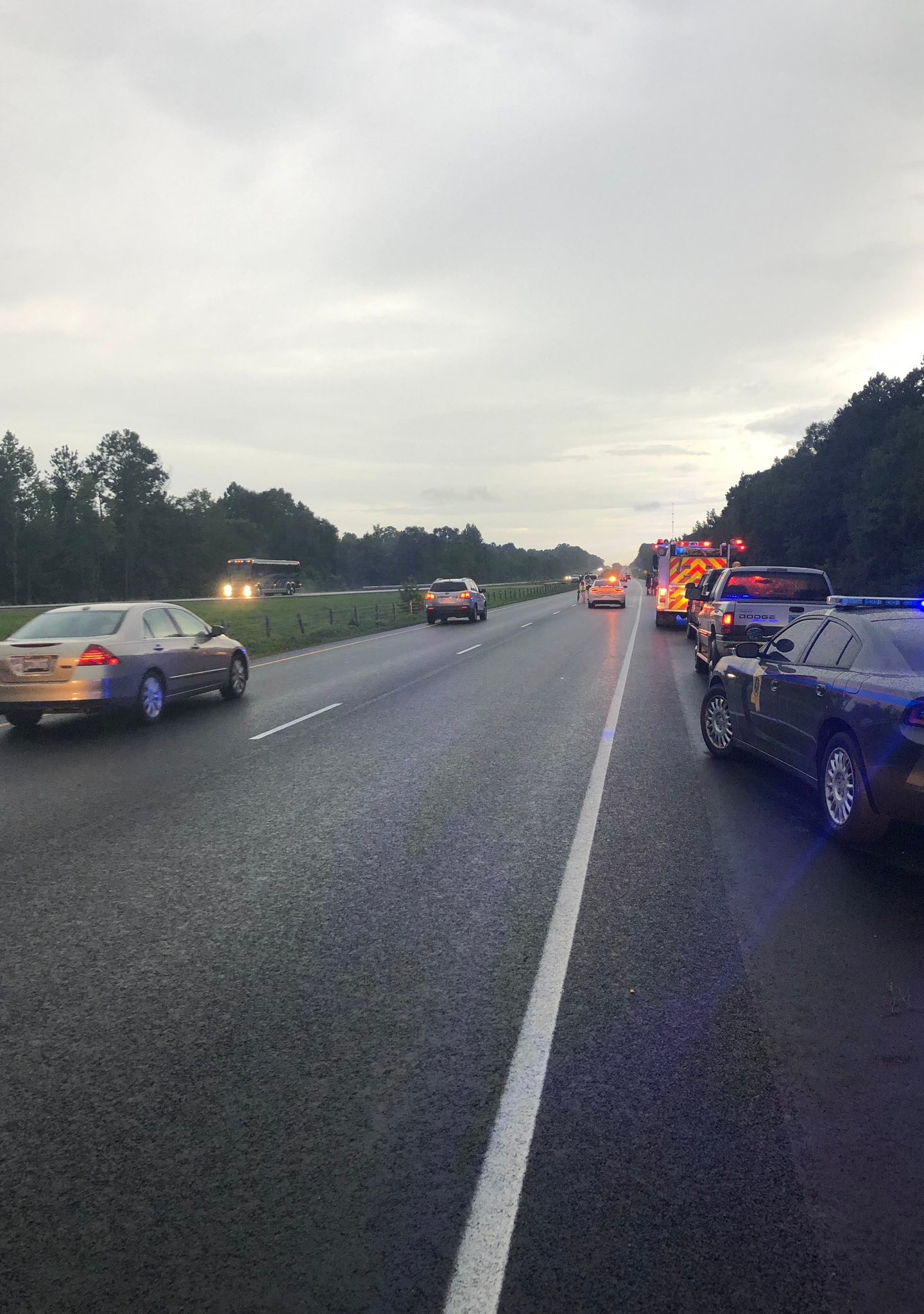 MHP investigating deadly crash along I55 in Lincoln County | WJTV