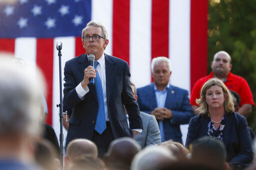 Mike DeWine, Nan Whaley