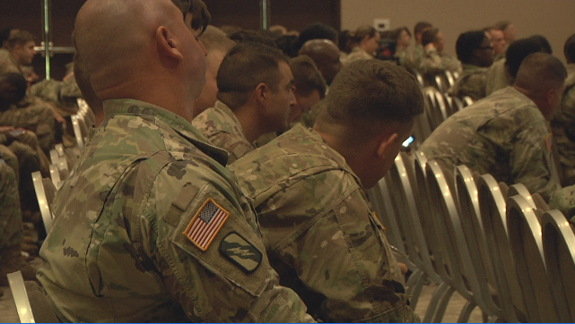"""Soldiers coming home get help integrating back to """"normal"""
