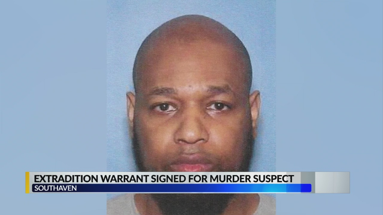 Extradition warrant signed for murder suspect: Southaven