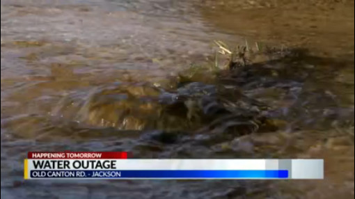 Water outage to affect Jackson businesses on Friday