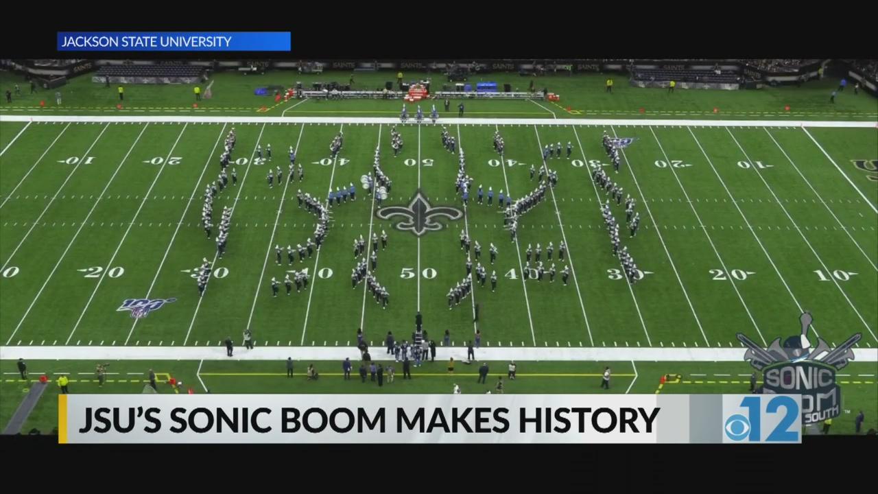 Jsu S Sonic Boom Makes History Wjtv
