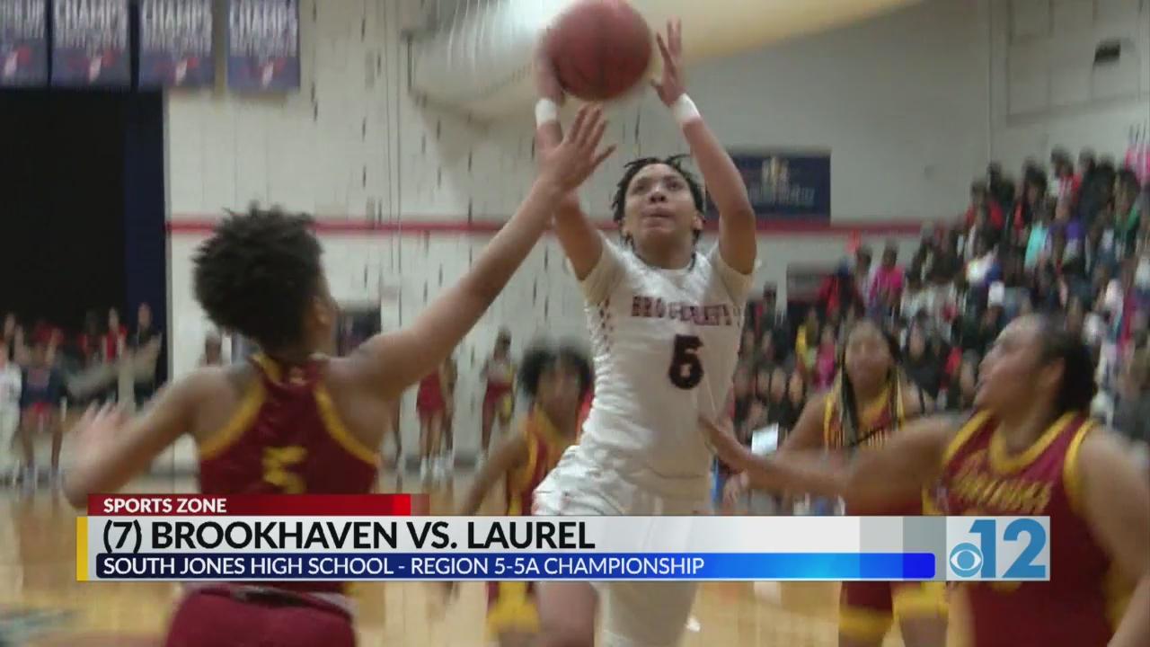 Brookhaven 5-5A (7) Laurel Girls Region Championship: 54,