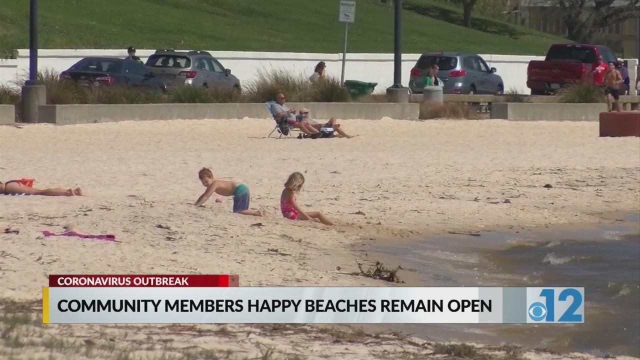 Neighbors In Mississippi Happy Beaches Are Still Open Wjtv