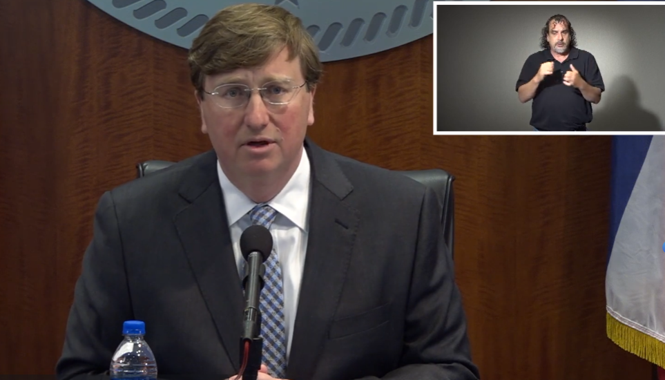 Mississippi governor announces additional measures to combat spread of coronavirus