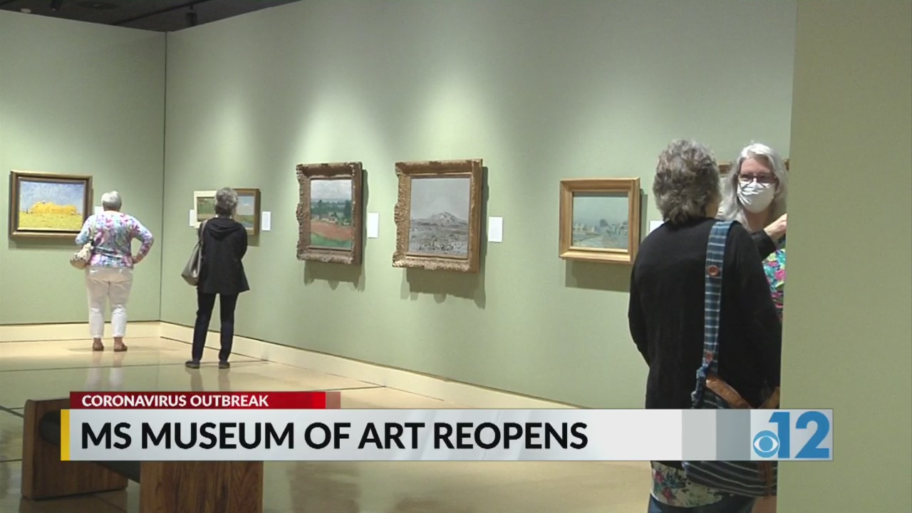 Mississippi Museum of Art reopens with art exhibition Van Gogh, Monet, Degas and Their Times