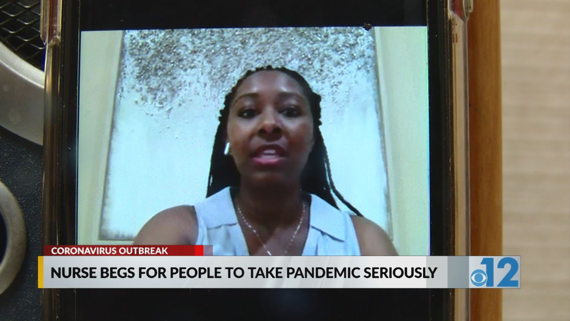 Nurse begs for people to take pandemic seriously