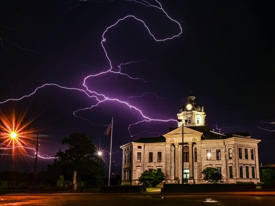 #1 COLUMBIA LIGHTNING STRIKE, August 16th (Credit: Will Jordan Photography)