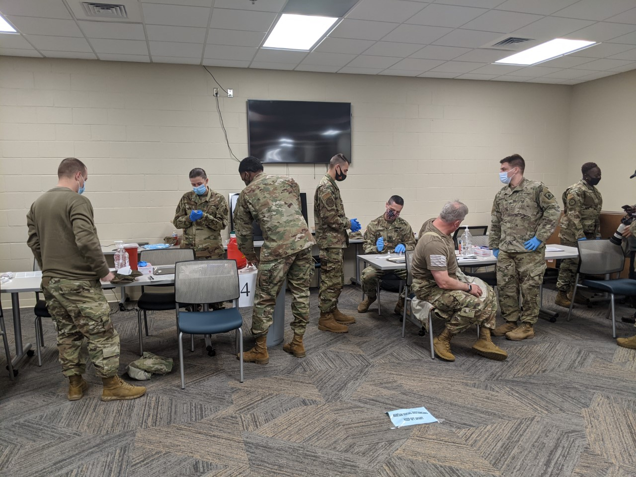 Mississippi National Guard receives COVID-19 vaccines