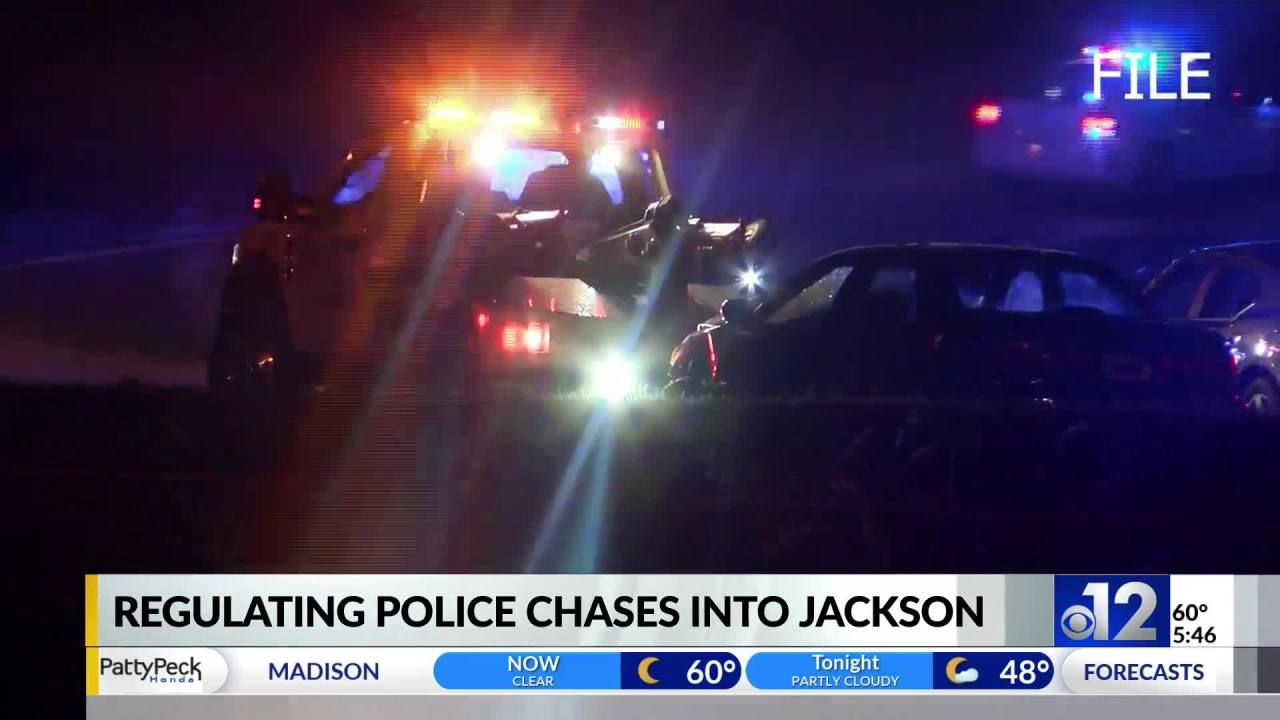 Councilman Stokes on regulating police chases into City of Jackson