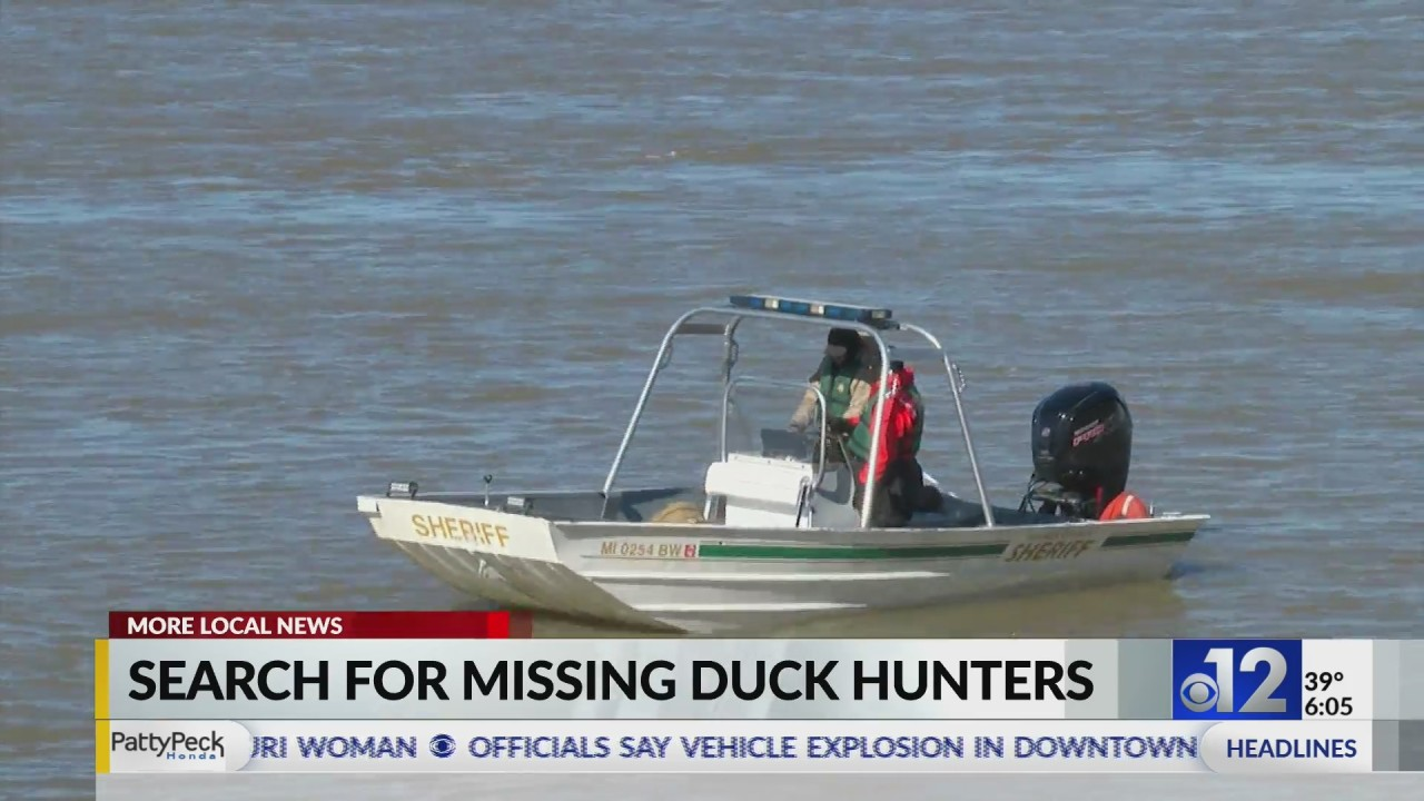Search efforts continue for two missing Copiah Co. duck hunters