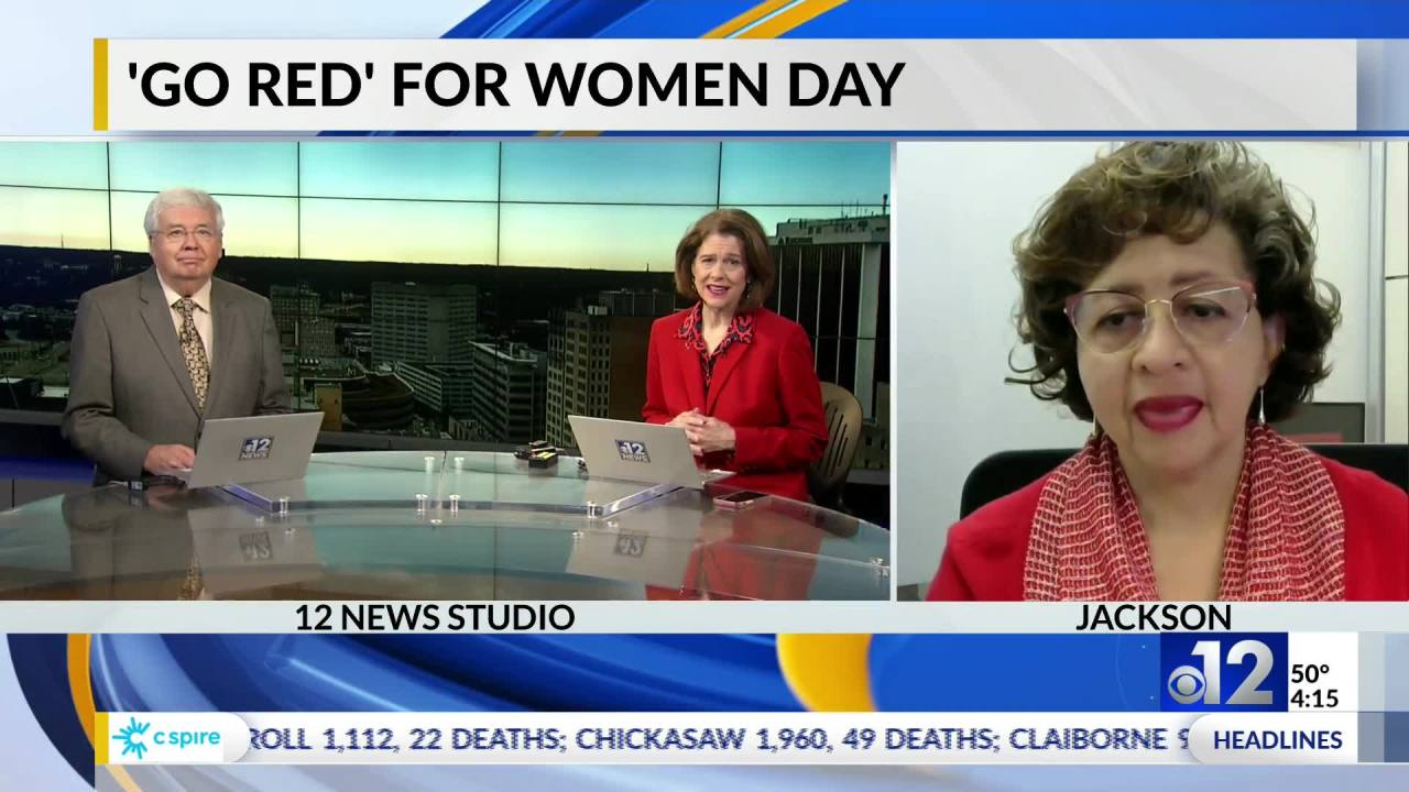 Cardiologist discusses heart health for women