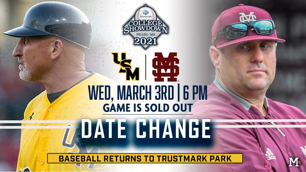 Trustmark College Showdown rescheduled for Wednesday due to weather