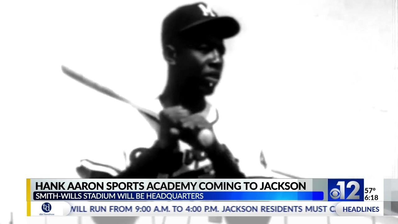 Baseball icon Hank Aaron lives on through new academy in Mississippi