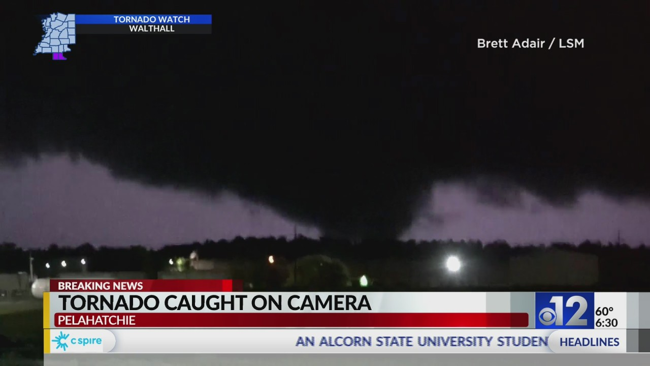 WATCH: New Video of Rankin County Tornado