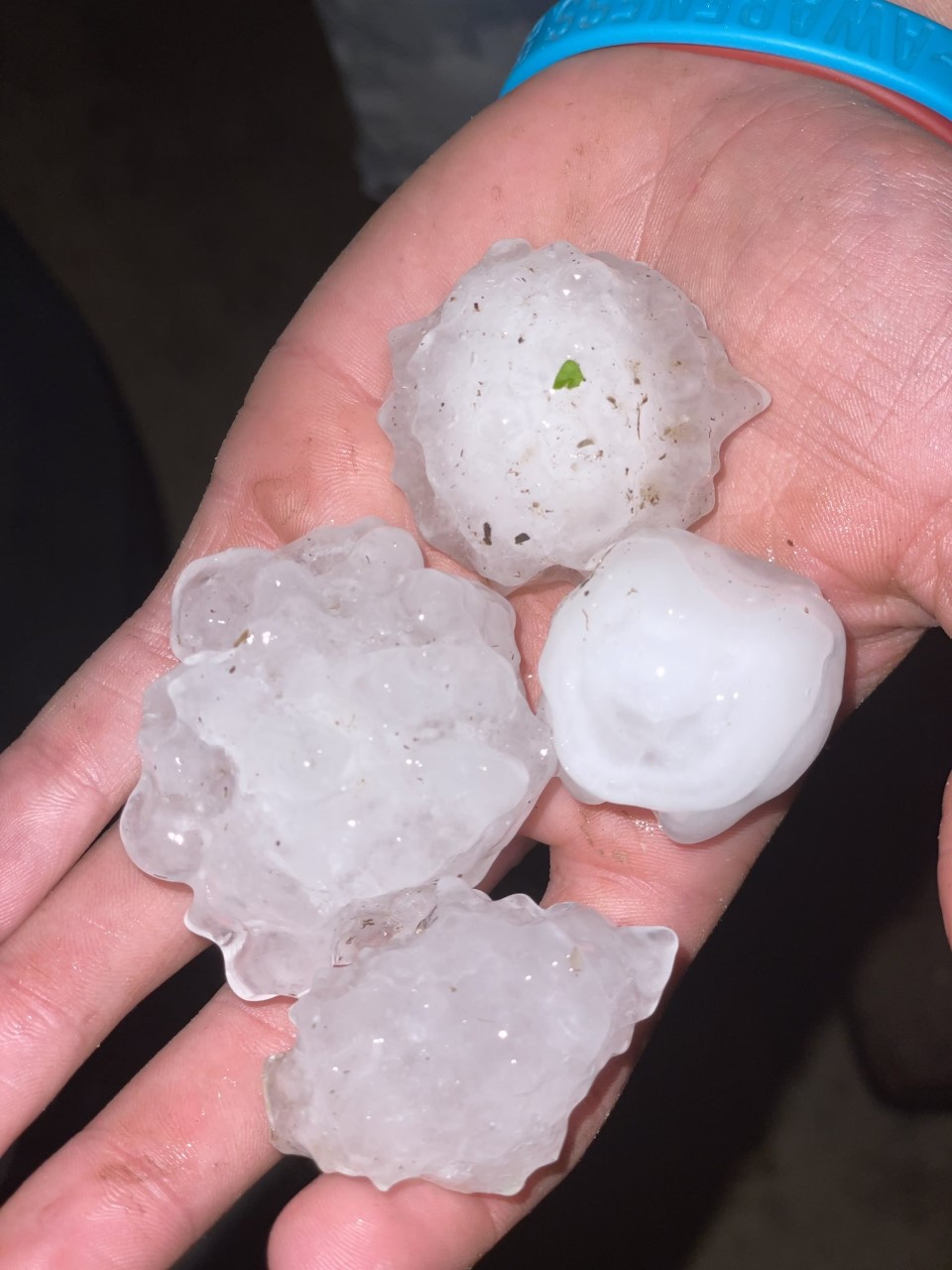 Hail reported in Rankin County as severe storms move through Mississippi