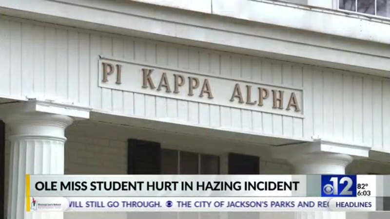 12 News Investigates: Hazing incident at Ole Miss fraternity